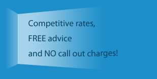 Heating services competitive rates, heating services free advice and no heating services call out charges!